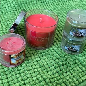 Bath & Body Works - lot of small candles